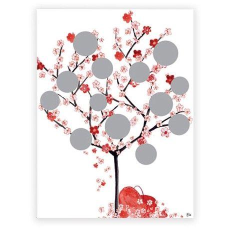 Les 25 meilleures id es de la cat gorie cadre arbre g n alogique sur pinterest cadeaux arbre - Idee arbre genealogique original ...