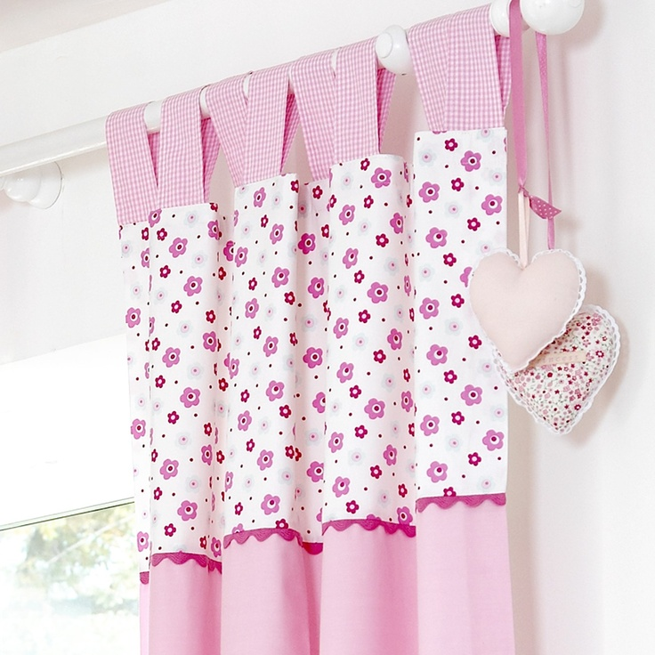 Baby Tab Top Curtains, Baby Girls Curtains, Purfect Curtains,  #nurserybedding, #