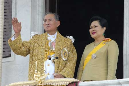 His Majesty King Bhumibol Adulyadej - the devotion between the Thai people and their King words can't describe.