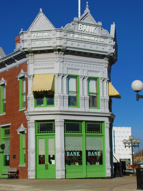 Historic Condon Bank in Coffeyville, Kansas Mom. Lived in Kansas  and took me here. very interesting place.