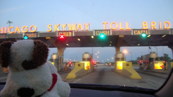 Rocco about to go on the Chicago bridge