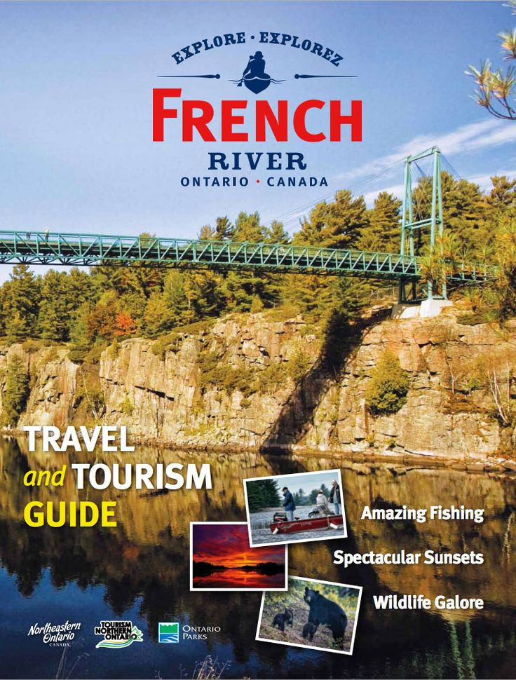#FrenchRiver Visitors Guide, @neontario @ontariotravel