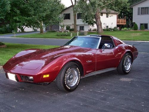 1975 Corvette Stingray Love the T-top and color! :)