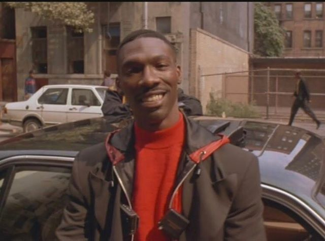 My Late Brother-The Very Funny Charlie Murphy. This Is Pic Is From JUNGLE FEVER, Charlie Was Also In MO' BETTER BLUES Too. Rest In Power.
