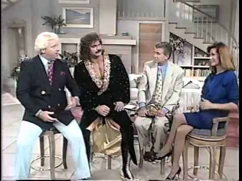 Ravishing Rick Rude and Bobby Heenan on Regis and Kathie Lee (1989) - YouTube