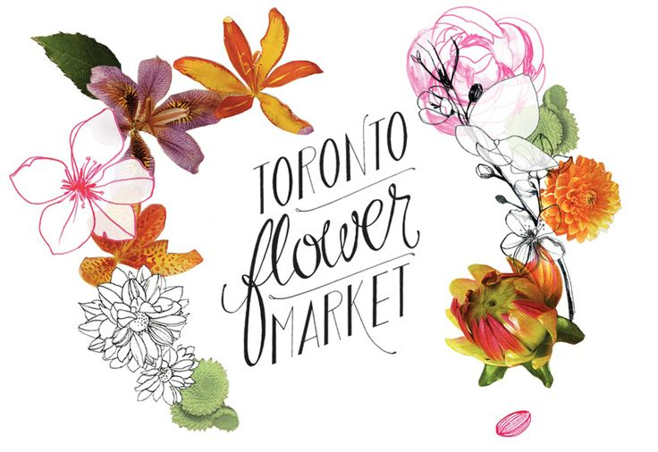 Toronto Flower Market - every other Saturday from May to September