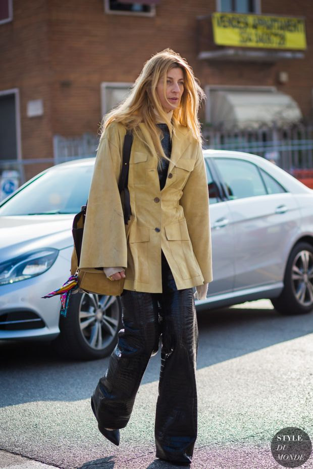Ada Kokosar Street Style Street Fashion Streetsnaps by STYLEDUMONDE Street Style Fashion Photography