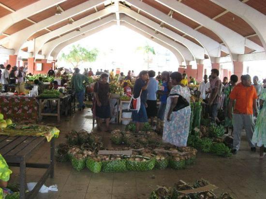 Port Vila Markets Lini Highway, Port Vila, Efate, Vanuatu