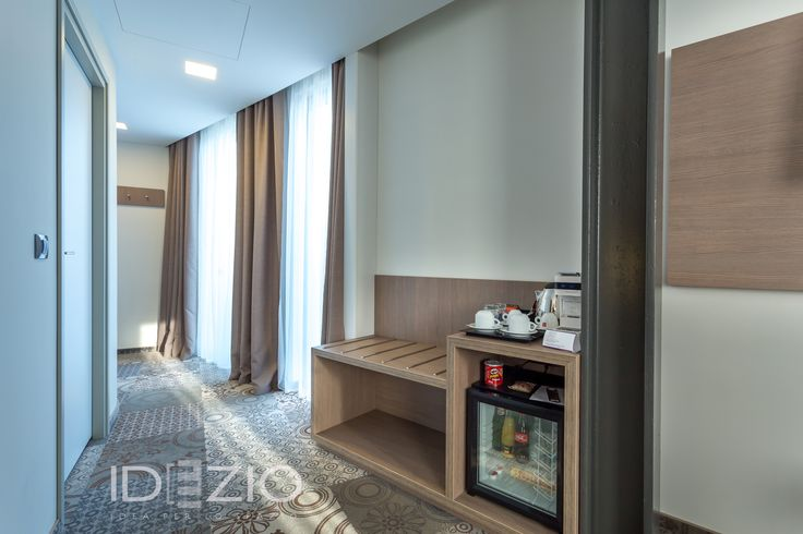 Custom-made furniture made by IDEZIO for a hotel in Bucharest.