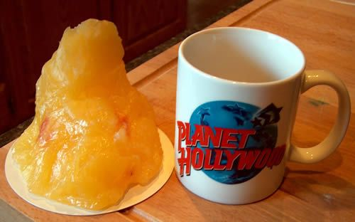 """Don't be discouraged if you """"only"""" lost 1 pound. This is what 1 pound of fat looks like!"""