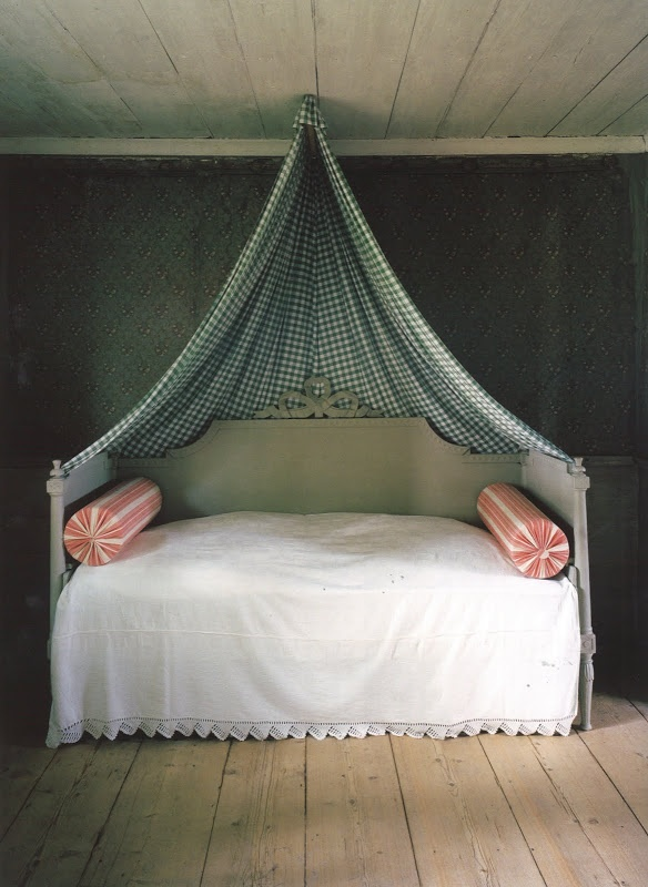 Imagine if you have a hook or something and put a blanket there right on top of your bed