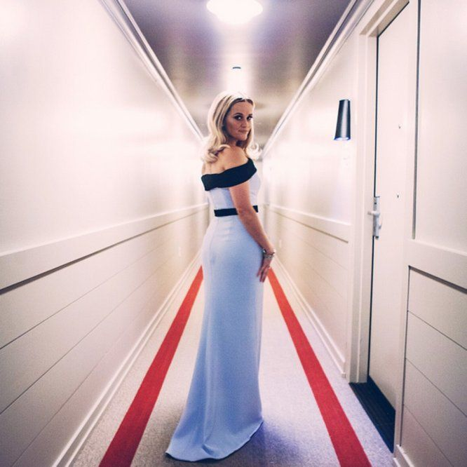 Reese Witherspoon Documents Her Oscars Day on Instagram