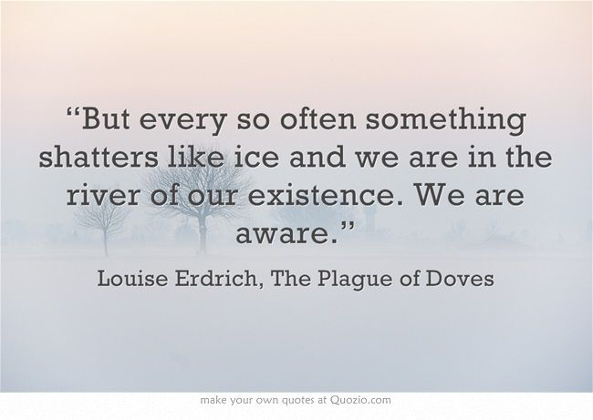 Louise Erdrich - I thought it sounded elegant and sad