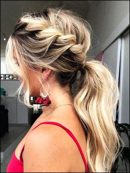 Cute Winter Formal Hairstyle Ideas DIY