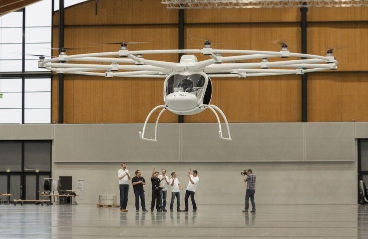 Volocopter VC200 - hélicoptère électrique - http://www.2tout2rien.fr/volocopter-vc200-helicoptere-electrique/