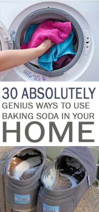 17 best ideas about baking soda on pinterest baking soda nails baking soda uses and baking - Things never clean baking soda ...