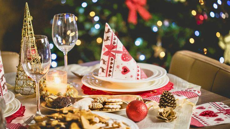 Een heerlijk feestelijk vier gangen vegetarisch kerstdiner, vol met tips om er een ontspannen en geslaagde avond van te maken.
