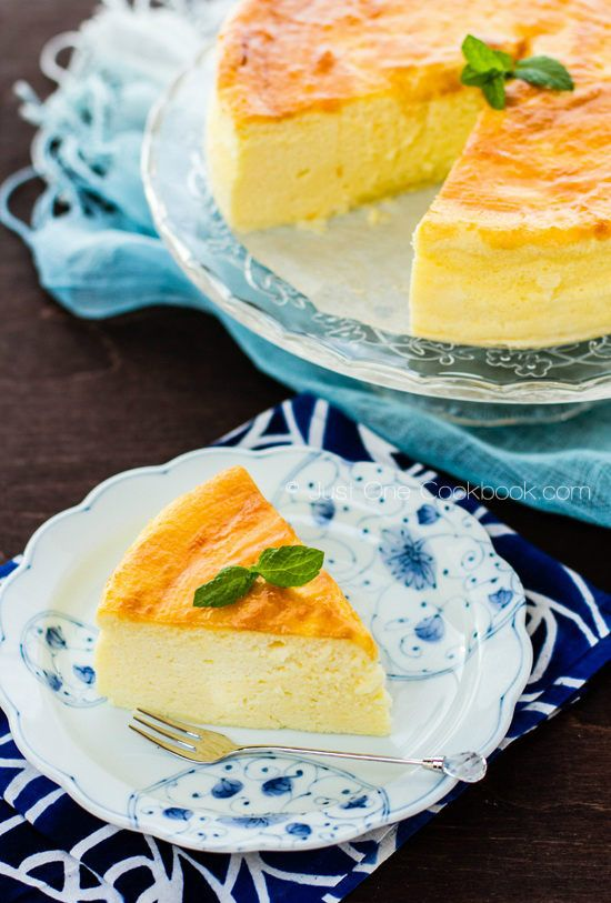 Japanese Souffle Cheesecake | JustOneCookbook.com
