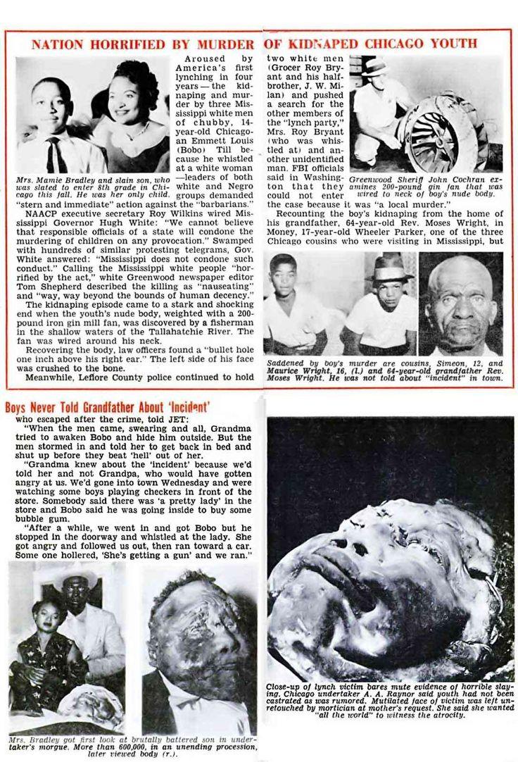 A history of emmit tills case