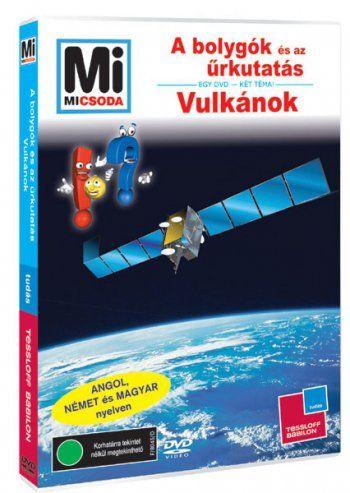 Mi MICSODA DVD A bolygók és az űrkutatás - Vulkánok