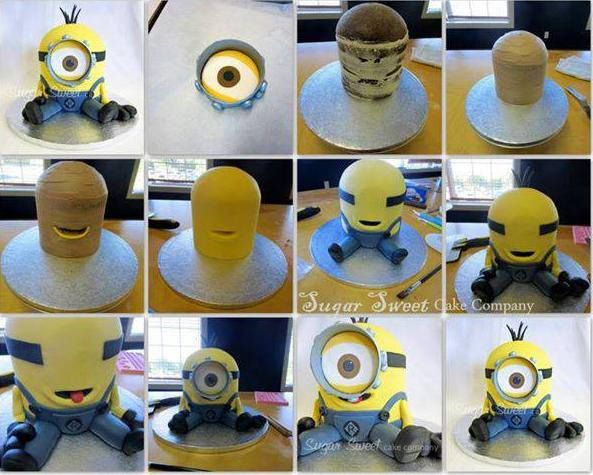 minion cake - my little monster just ordered this for his fifth bday