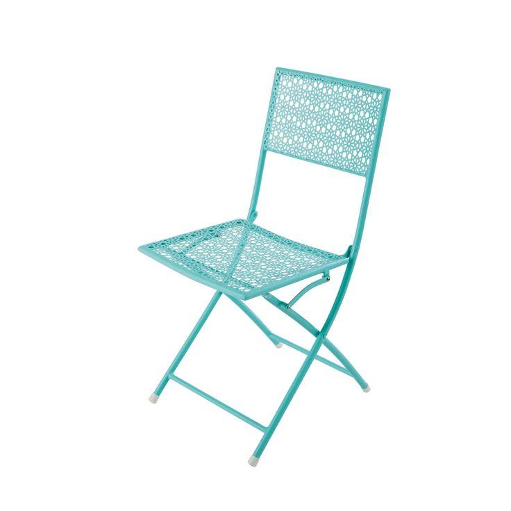 Les 25 meilleures id es concernant chaises de jardin en m tal sur pinterest - Chaise de jardin metal ...