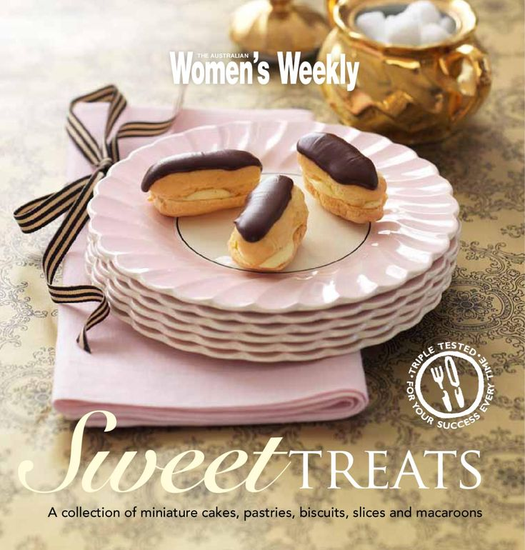 SWEET TREATS A cookbook for The Australian Women's Weekly on miniature chocolates and other sweet treats. Creative Direction by Hieu Nguyen.