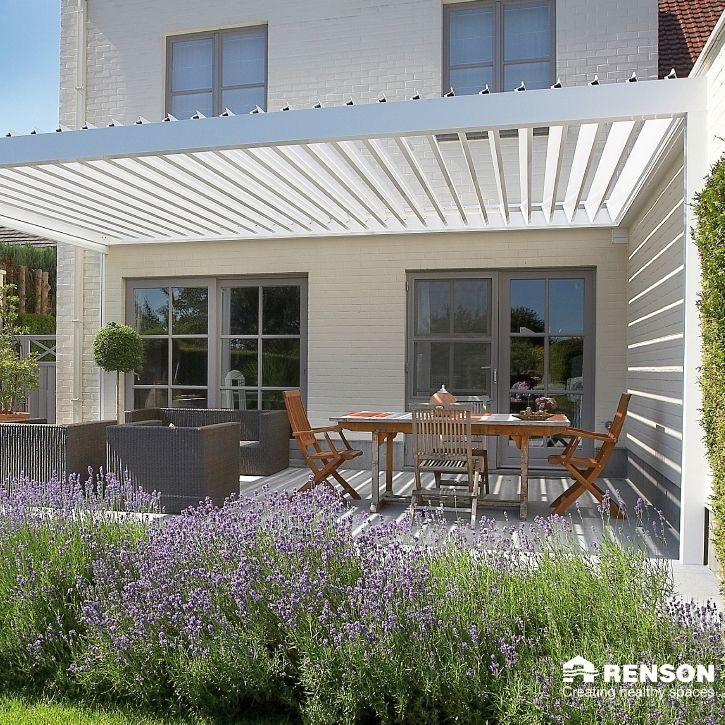 Louvered Roof Covers Portfolio | Garden House Design
