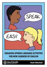 Teacher Ruth Mitchell's latest resource is a must for teachers working with learners who are new to the English language. Ruth has developed these activities for her own ESOL students to promote their oral language skills. Students are taken through games, structured conversations and engaging language activities that they can practice with each other and at home. Blend with your own programme.