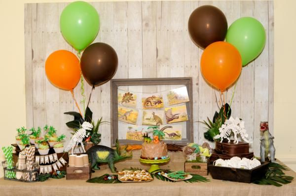 Natural History Museum Dinosaur Party - Kara's Party Ideas - The Place for All Things Party