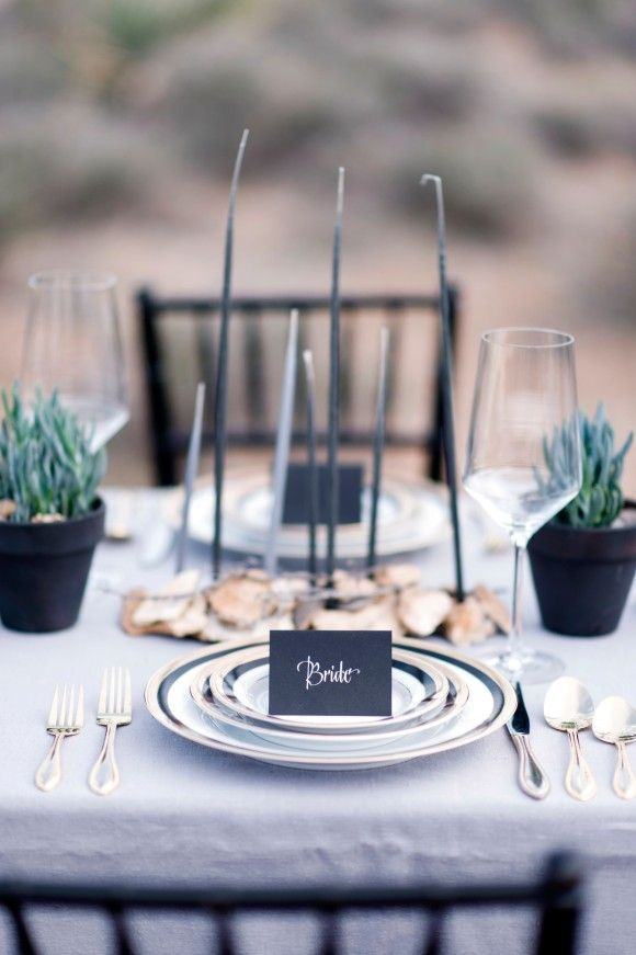 Black Wedding Inspiration shoot : Photography - kimingphotography.com | http://www.fabmood.com/black-wedding-inspiration #blackwedding