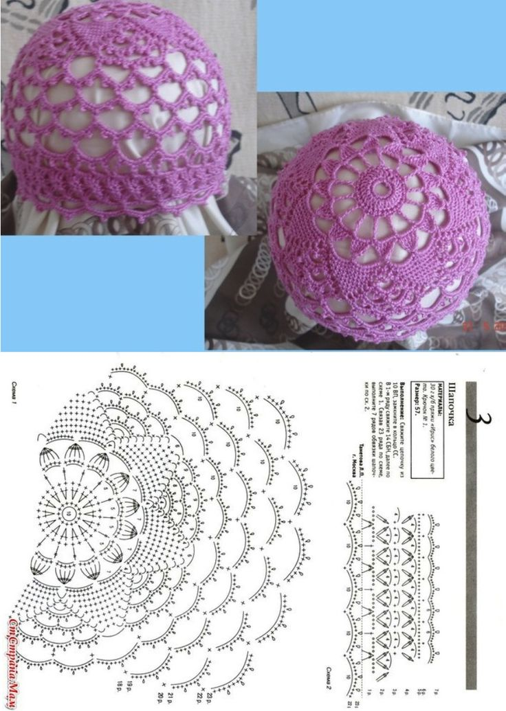 18 best czapki images on Pinterest | Crochet patterns, Beanies and ...