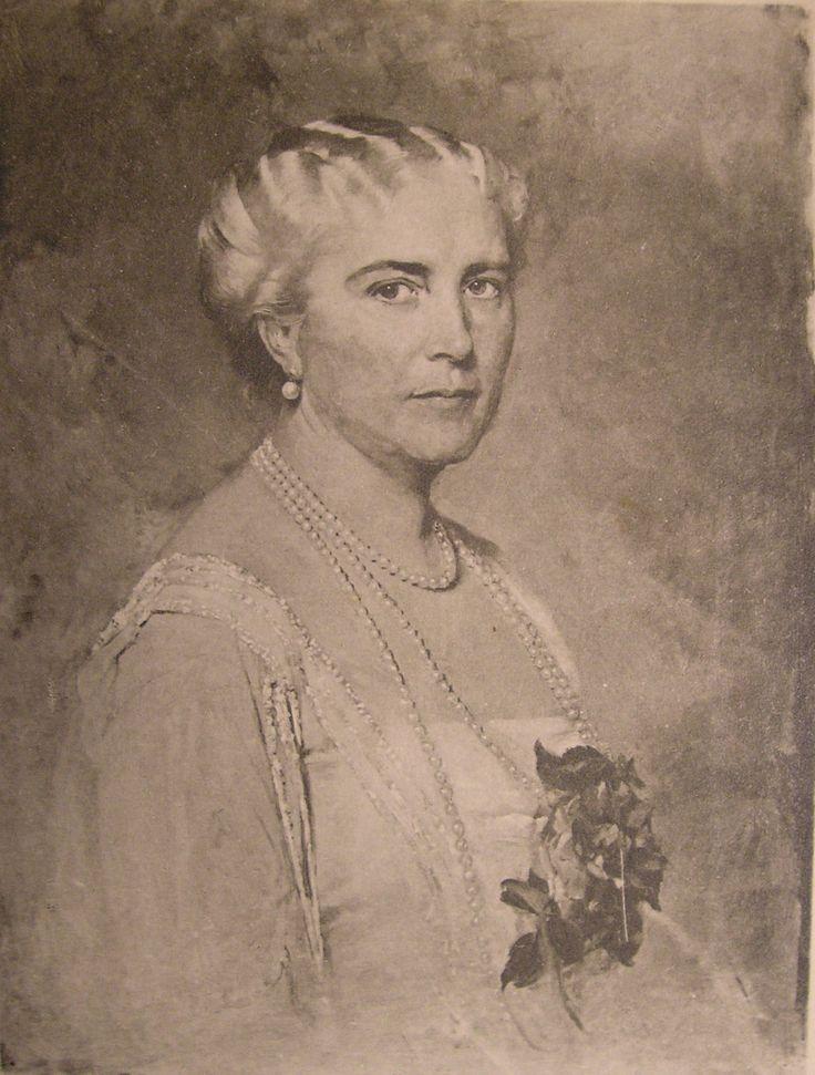 Mother of Karolina Lanckorońska - Małgorzata von Lichnovsky