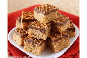 The Best Butterscotch Candy Recipes: Butterscotch Peanut Crispy Bars