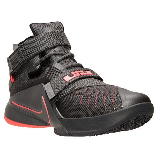 Men's LeBron Soldier 9 PRM Basketball Shoes - 749490 008 | Finish Line