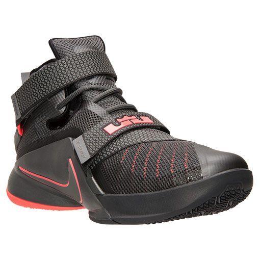 Men's LeBron Soldier 9 PRM Basketball Shoes - 749490 008   Finish Line