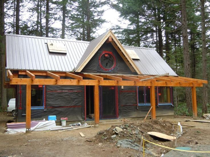 1000 images about timber frame on pinterest yankee barn for Timber frame cottage