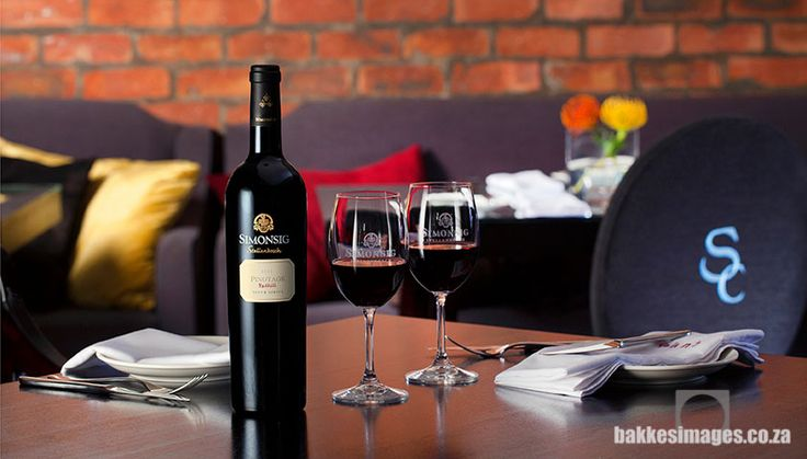 Wine Photography for Marketing & Advertising: Simonsig Wine Estate, South Africa. Redhill Pinotage.