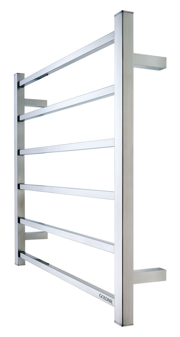 Goldair GMT6 6 bar mirror sq towel rail GMT6 PREFERRED ENSUITE