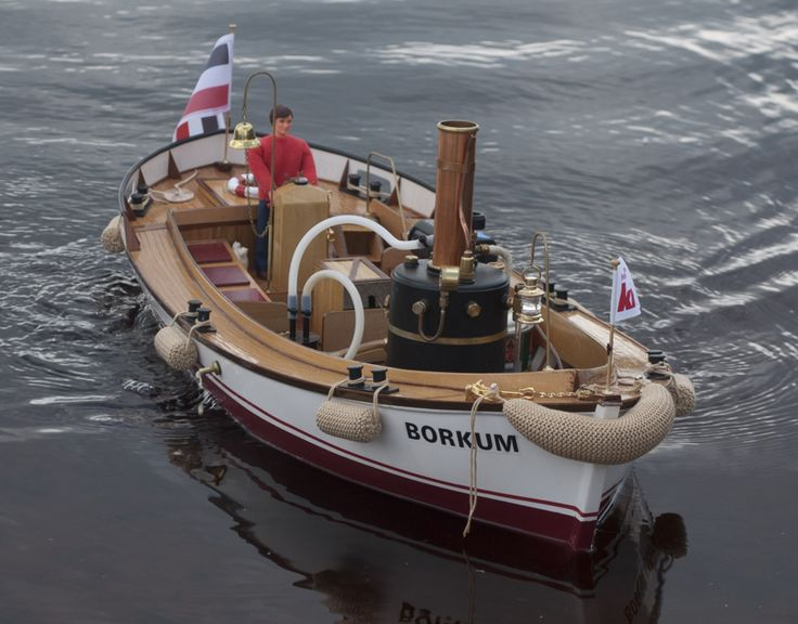Hand Made Steam Model Boats RC Radio Controlled