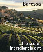Barossa - the secret ingredient is dirt