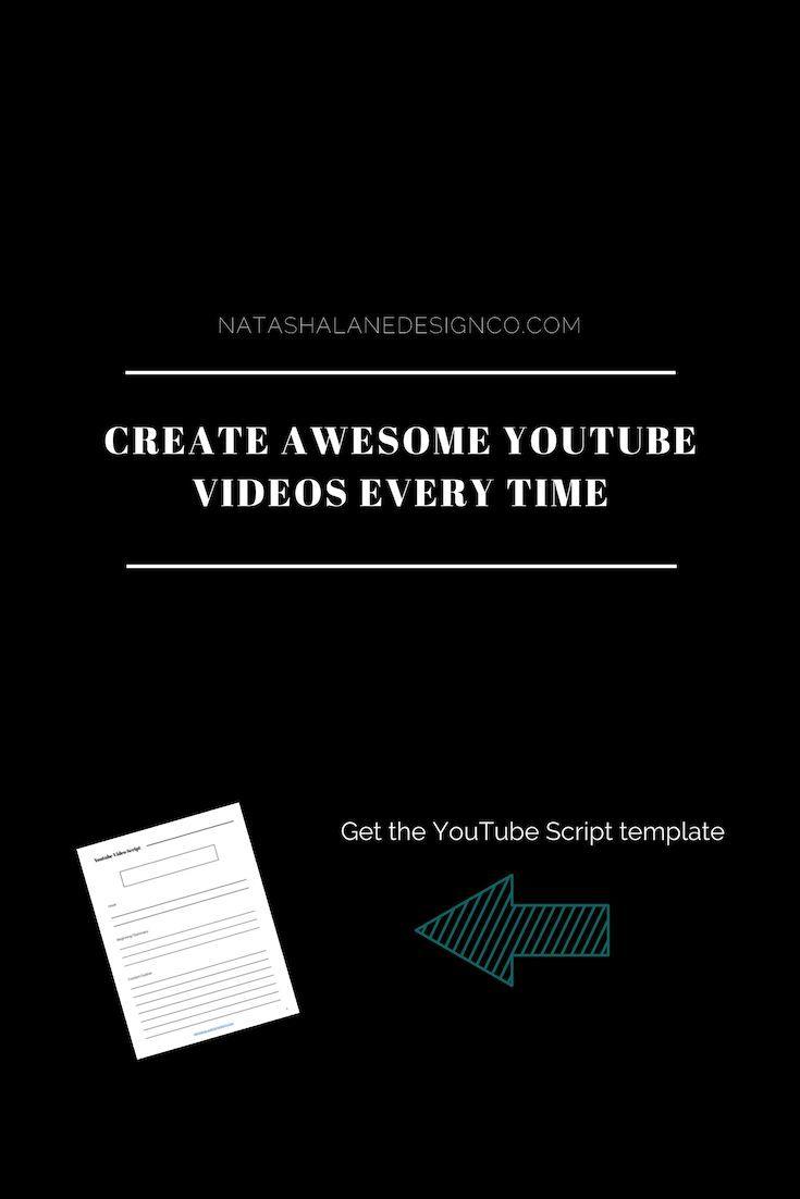 Youtube Video Script Video Marketing Youtube Video Script Video Marketing