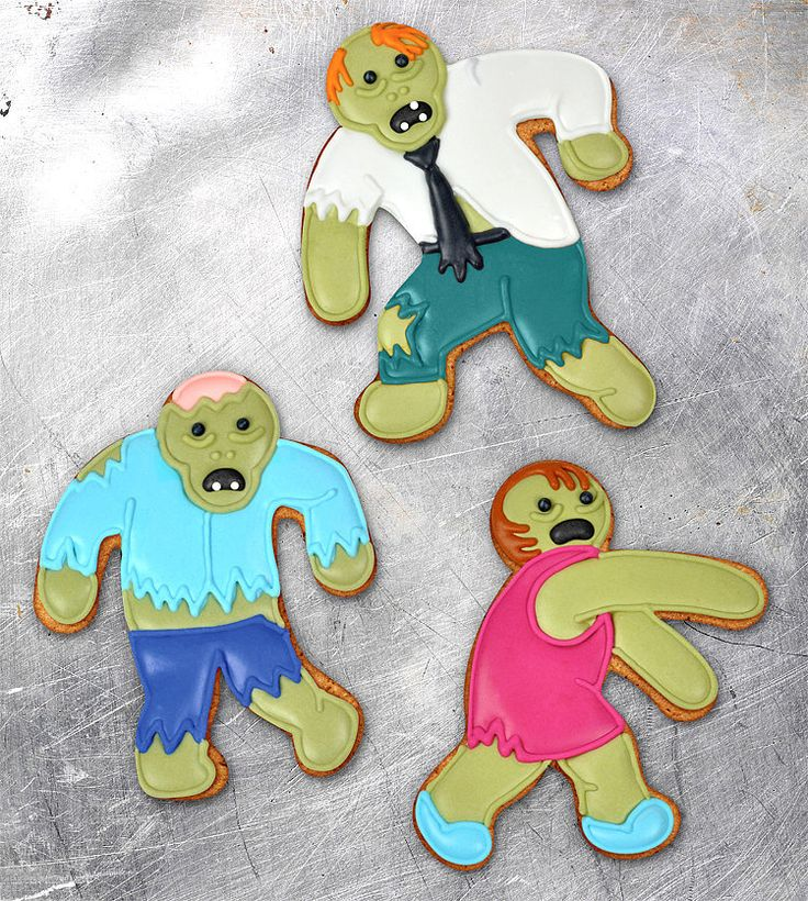 Zombie cookie cutters!!!!! 20+ Quirky White Elephant Food Gifts