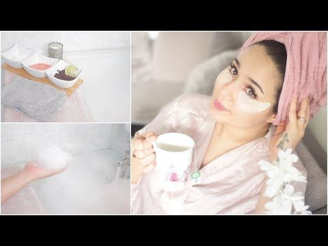 Check out this Arabic Beauty Influencer Bathtime Routine Featuring Aveeno Products!