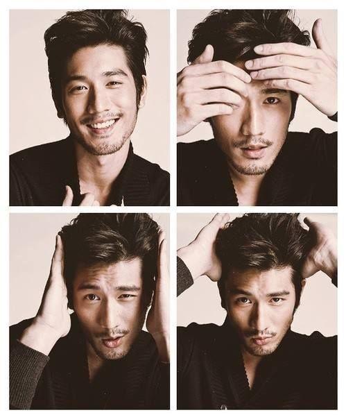 Godfrey Gao why heeeeeeeeeeeeeellooooooooooooooooooooooo ;) God he's gorgeoussssssssssss