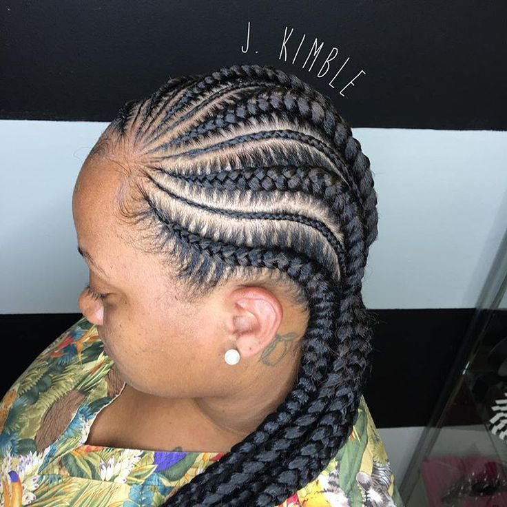 ... Pinterest Goddess braids, Black braided hairstyles and Ghana braids