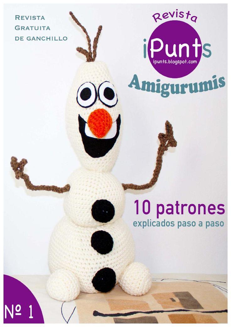 Primer número de la revista gratuita iPunts.  Amigurumis: 10 patrones explicados paso a paso.