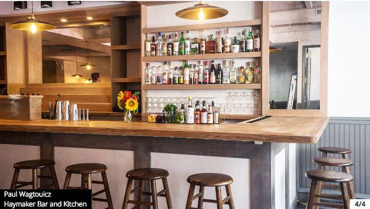 haymaker bar kitchen designed by wills design associates in nyc interiordesign nyc willsdesignassociates nyc food pinterest - Haymaker Bar And Kitchen