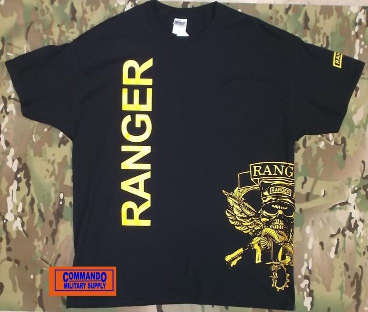Ranger T Shirt Available At Commando Military Supply