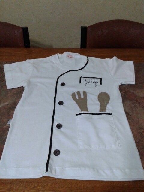 Disfraz de chef custome chef diy